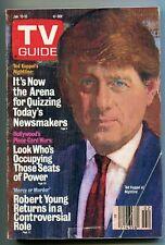 TV Guide-Ted Koppe-New York Metropolitan Edition-July 1987-VG