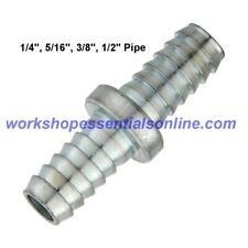 """PCL Air Line Hose Connector/Repairer 1/4""""-5/16""""-3/8""""-1/2"""" Hose Fittings"""