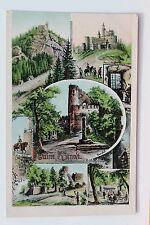 24082 AK Ruine Kynast im Riesengebirge 1908 viele seltene Ansichten