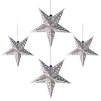 1 Set Festive Hanging Ornaments Star Lantern Lampshade for Bar