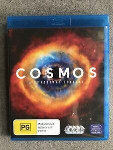 Blu Ray Disc - COSMOS A Spacetime odyssey - Region B