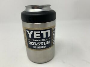 New Design! Yeti Rambler Colster Coozie Can Insulator Stainless Steel 12oz