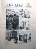 L'Illustrazione Italiana 29 Gennaio 1893 Traviata Saragozza Giacchi Morelli Roma