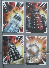 Doctor who 4 exclusive dalek postcards