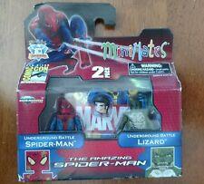 Marvel MINIMATES Spider-Man & Lizard San Diego Comic Con Exclusive Sealed NEW!