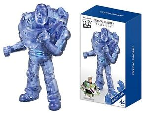 Hanayama Japan Crystal Gallery 3D Puzzle Disney Toy Story Buzz Lightyear 44piece