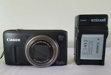 Canon PowerShot SX260 HS 12.1MP Digital Camera - Black *Fair/Tested*