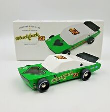 Candylab Toys Blackjack 21 Solid Beech Wood Car Wood Cars Brand New Toy