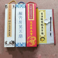 1 Set Practice Repeat Use Water Write Cloth Chinese Calligraphy Brush Copybook