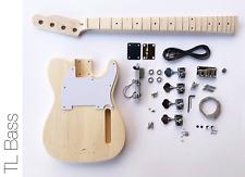 NEW DIY Electric Bass Guitar Kit – Tele Bass Advanced Guitar Kit