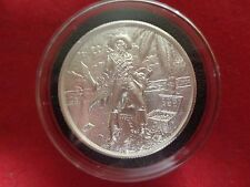 The Captain Coin 2 ounce  .999 Fine  Silver  In  Black  Deluxe Capsule