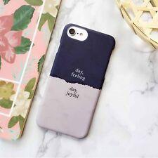 NEW Day Love Patte Design Matte Hard Back Case Defender For iPhone 7 7Plus 6 6s