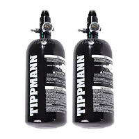 2 - Pack Tippmann Basics 47 / 48ci 3k Aluminum HPA / Nitro / Compressed Air Tank