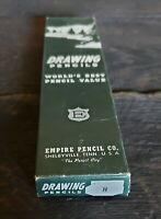 Empire Pencil Company Vintage Drawing Pencils H and Box Shelbyville, Tennessee