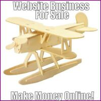 Fully Stocked WOODCRAFT Website Business|FREE Domain|FREE Hosting|FREE Traffic