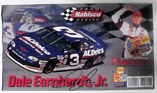 DALE EARNHARDT, JR. Signed TEAM NABISCO RACING Advertising Coupon 1999