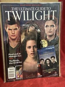 TWILIGHT SAGA Anniversary BAM Limited Edition Magazine + Bella Bookmark Cards