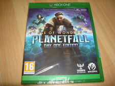 AGE OF WONDERS PLANETFALL DAY ONE ED ** NEW & SEALED ** Microsoft Xbox One Game