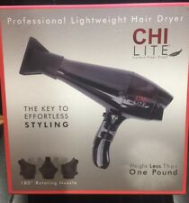 CHI farouk Lite Carbon Fiber Professional Lightweight Hair Dryer Rotating Nozzle