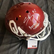 3f404f8c4 Spencer Rattler Signed Full Size Oklahoma Sooners OU Boomer Autographed PSA  COA