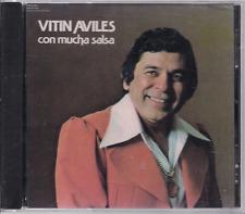 Salsa RARE CD FANIA First Pressing VITIN AVILES con mucha salsa LO QUE ENCONTRE