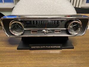 1965 Mustang Desktop Sound Clock Thermometer and Hygrometer Limited Edition