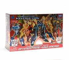 New arrival!Transformers Exclusive Optimus Prime+Gaia Unicron Year Of Snake set