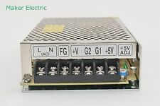 dual output switching power supply 50W 12v 2a, 24v 1a D-50C CHINA MKELE