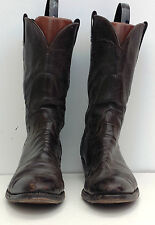 Mens' Size 13 AAA Olathe Brown Western Cowboy Boots