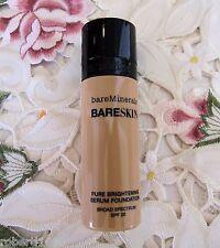 BARE MINERALS~Bare Skin BRIGHTENING SERUM FOUNDATION~08 BARE BEIGE~SPF 20~1 oz