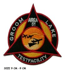 USAF Air Forces Area 51 Alien Groom Lake NRO emblem sew iron on patch
