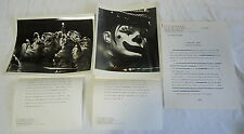 Two B/W Eastman Kodak Photos & Article ~ Circus ~ Tigers & Clown
