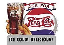 Pepsi Ice Cold Delicious Insegna di Metallo per Muro (41)