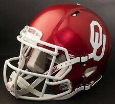 OKLAHOMA SOONERS NCAA Riddell SPEED Full Size Authentic Football Helmet