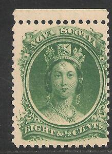 Nova Scotia #11 FVF MNH - 1860 8 1/2c Queen Victoria