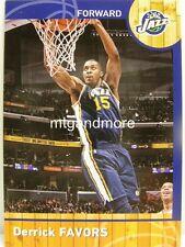 Panini NBA (Adrenalyn XL) 2013/2014 - #099 Derrick Favors
