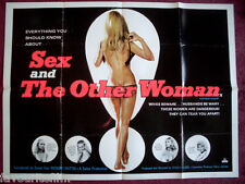 Cinema Poster: SEX AND THE OTHER WOMAN 1972 (Quad) Bartlett Mullins