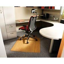 "Anji 36"" x 48"" NATURAL Bamboo Roll-Up Chair Mat NEW"