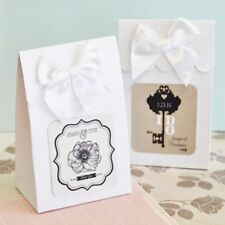 96 Personalized Vintage Wedding Theme Candy Boxes Bags Wedding Favors