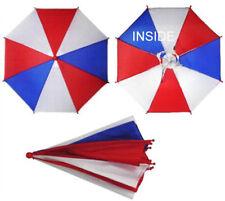 AMERICAN UMBRELLA HATS crazy hat flag cap sun shade USA head cover novelty new