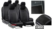 Alicante + Eco-Leather Tailored Set Seat Covers TOYOTA VERSO 7 seats 2009 - 2018