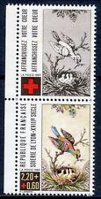TIMBRE FRANCE NEUF** N° 2612 CROIX ROUGE OISEAU FAUNE + VIGNETTE DE CARNET