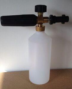 Karcher K HD foam lance with Bubbly Jubbly pH snow foam SSF 5L