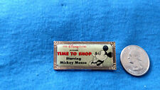 DISNEY Pin 5795 1st Anniversary Hollywood Time to Shop STARRING MICKEY MOUSE