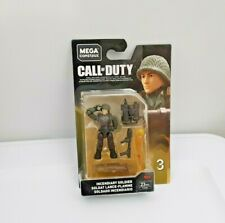 Mega Construx ACTIVISION Call of Duty INCENDIARY SOLDIER Figure Series 3 NEW