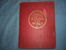 HAMMOND'S HOME AND OFFICE ATLAS OF THE WORLD/1915/HC/World History/Illus.