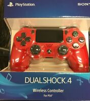 Sony PlayStation 4 PS4 Dualshock 4 Wireless Controller Magma Red CUH-ZCT2U