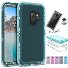 SHOCKPROOF Clear 360° Phone Case Cover For Samsung Galaxy Note 9 S7 S8 S9 Plus
