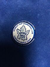 StanleyCupChamp Toronto MapleLeafs 1948 LimitedEdition NHL Labatts Beer Cap 2001