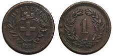Schweiz 1 Rappen 1895